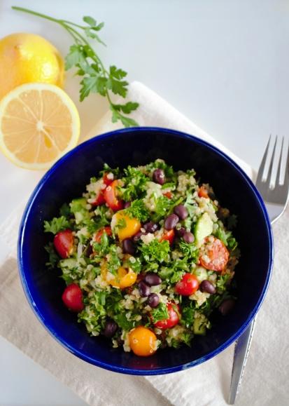 Quinoa-Tabouli Salad (Gluten free)