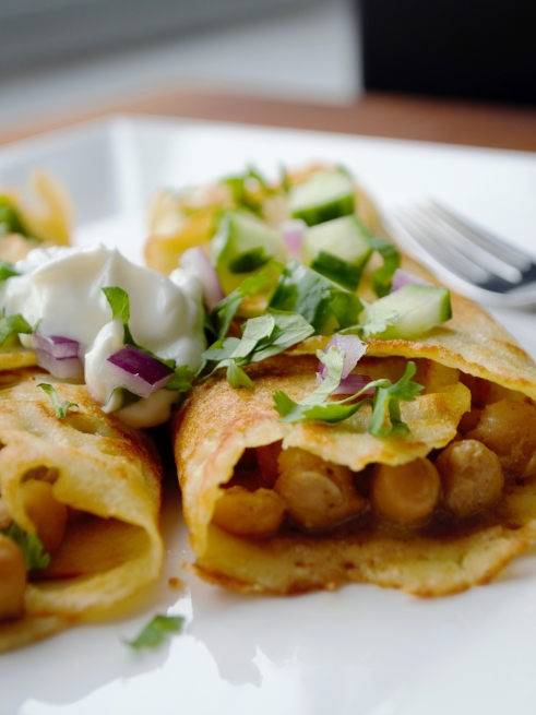 Savory crepes (Gluten-free)