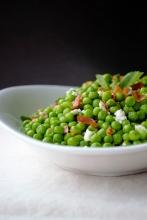 https://milkandmarigolds.com/2014/04/09/sweet-peas-with-crisp-prosciutto-fresh-mint-feta/