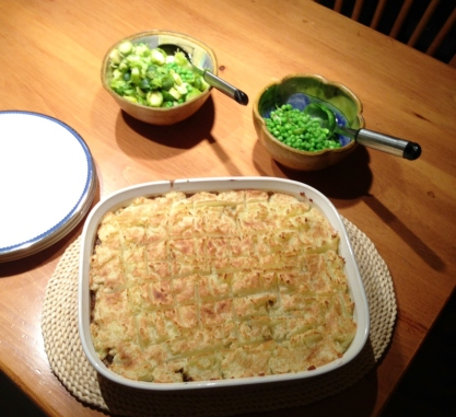 My mom's famous Sheppard's Pie