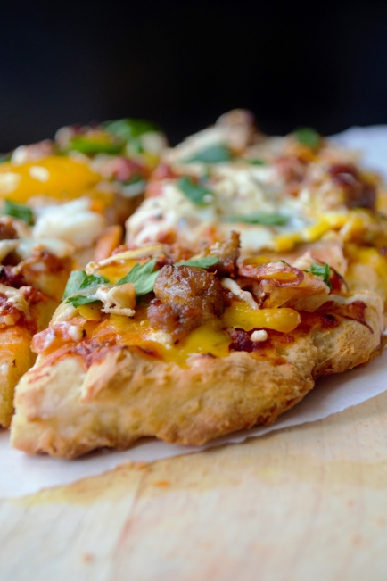 breakfast pizza gluten free