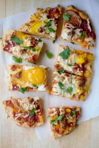gluten-free breakfast pizza
