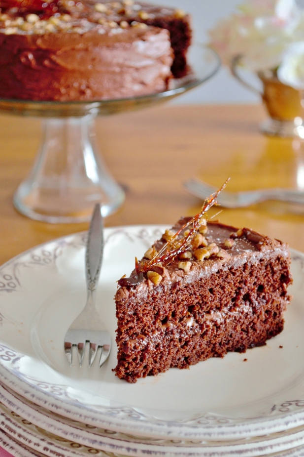 gluten and dairy-free chocolate cake