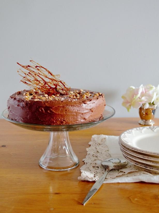 gluten and dairy-free chocolate cake