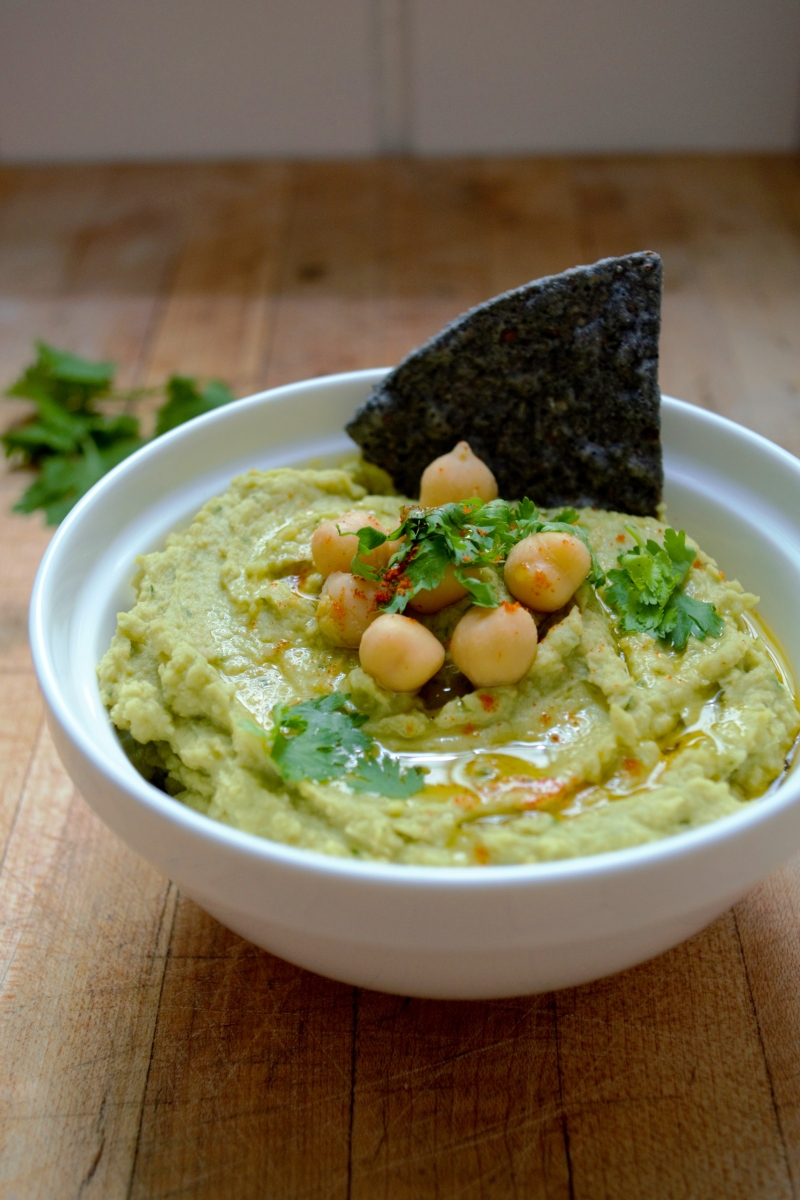 avocado hummus vegan