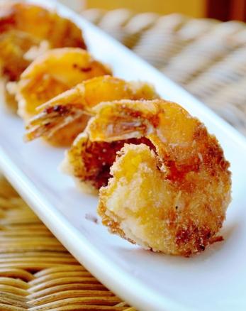 gluten-free coconut shrimp