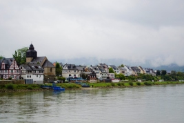 River cruise along the Rhine, Germany