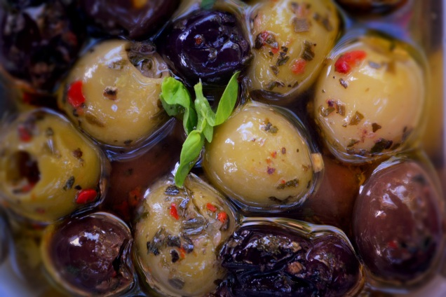 Olives for gluten free dish