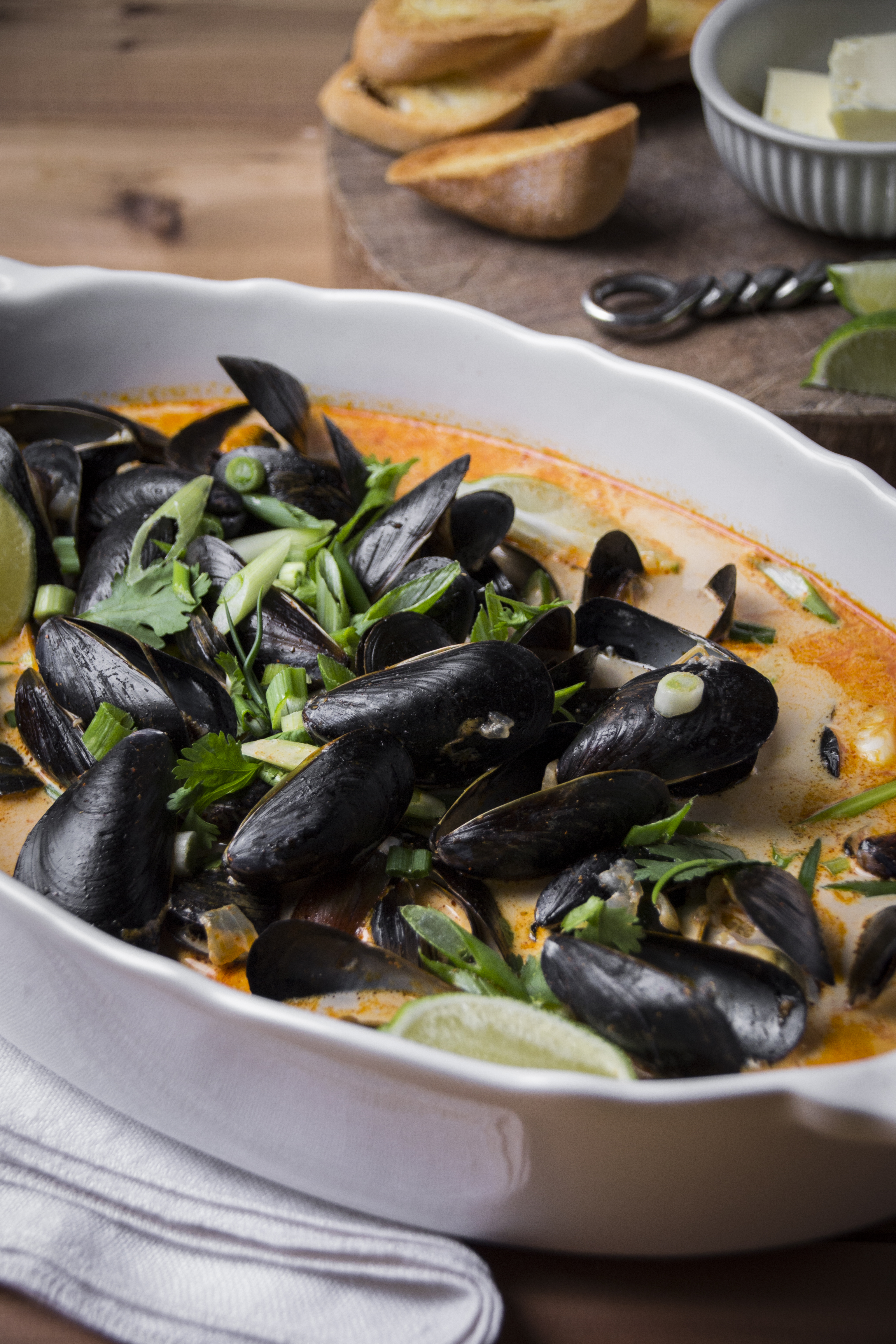Thai Red Curry Mussels | milk & marigolds