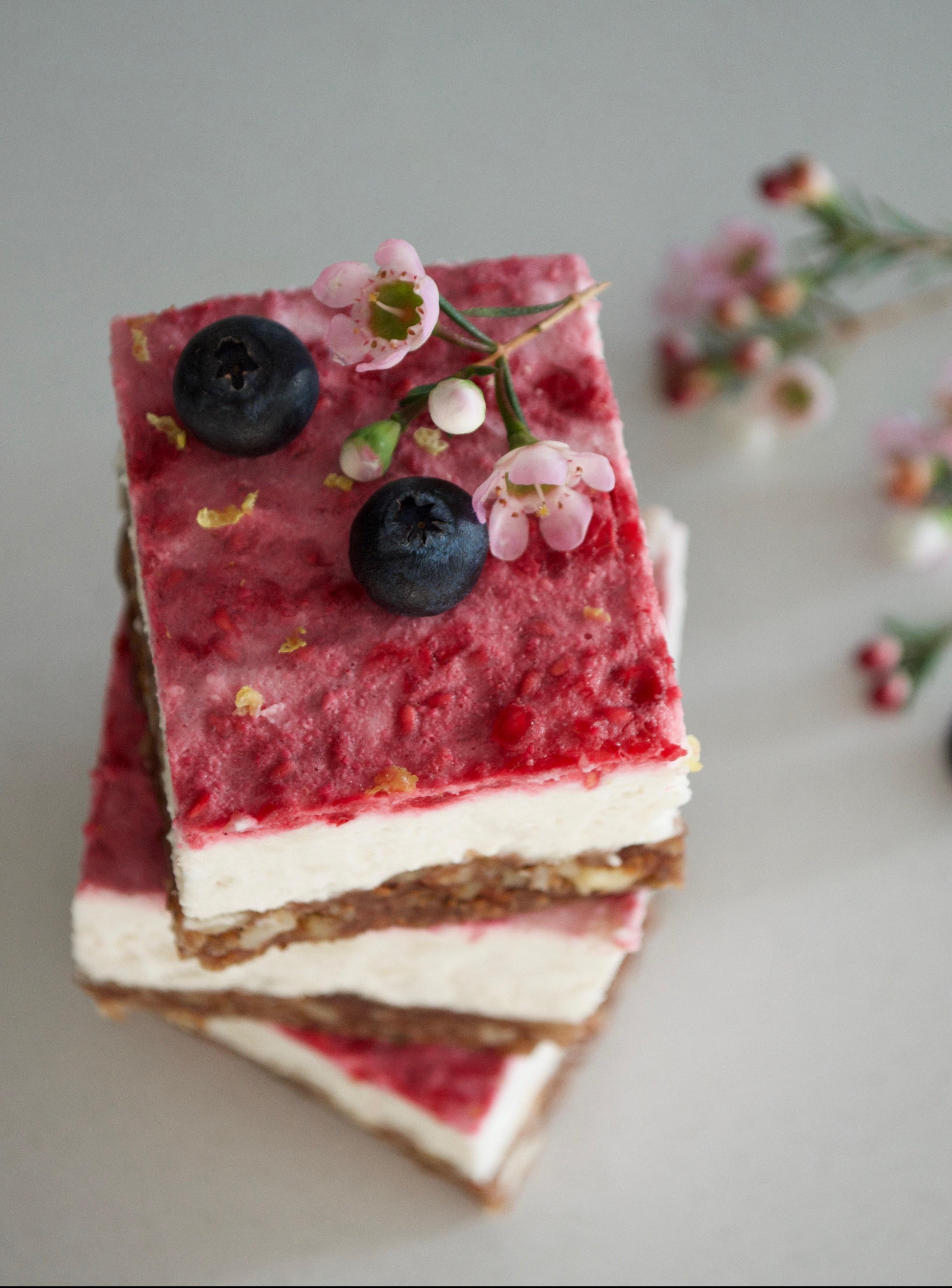 vegan cheesecake milkandmarigolds.com
