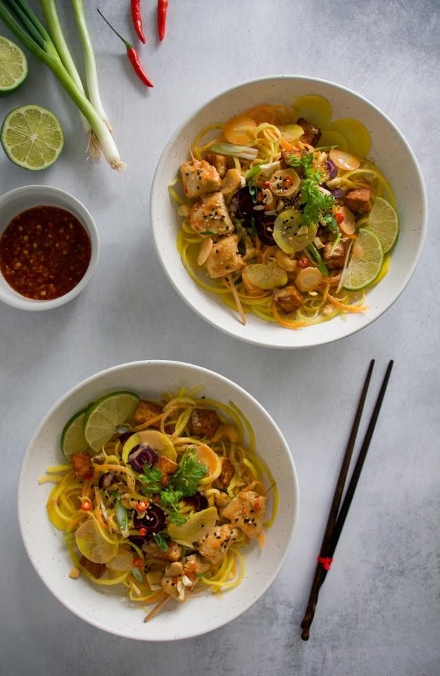 milkandmarigolds.com carrot noodles