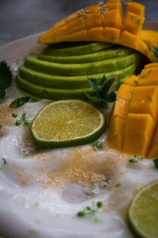 fruit platter by milkandmarigolds.com